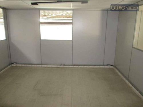 galpão para alugar, 1000 m² por r$ 13.500/mês - mooca -ga 190311v - ga0385