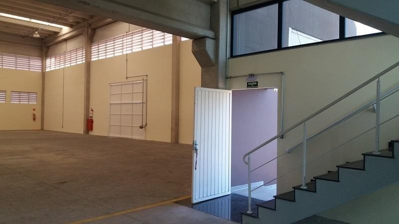galpão para alugar, 1028 m² por r$ 20.000,00/mês - parque industrial san josé - cotia/sp - ga0154
