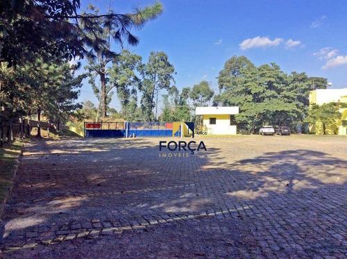 galpão para alugar, 10600 m² - jardim alvorada - jandira/sp - ga0322