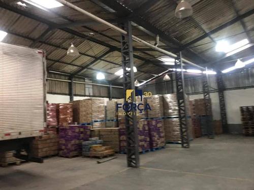 galpão para alugar, 1063 m² - vila nova cumbica - guarulhos/sp - ga0204