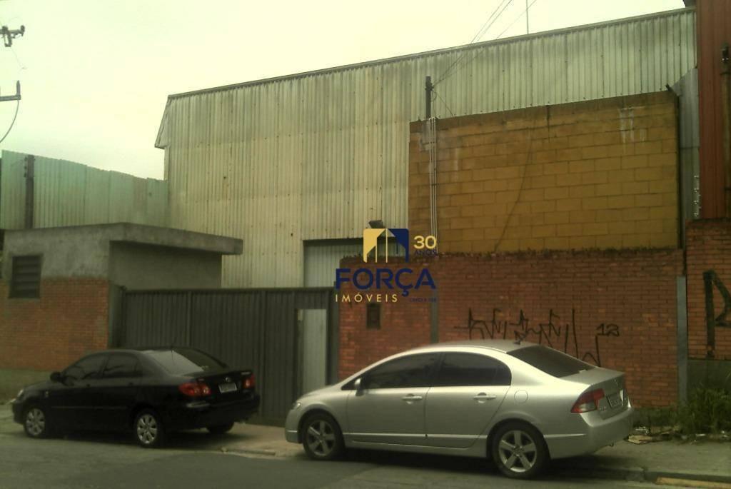galpão para alugar, 1100 m² - cidade industrial satélite de são paulo - guarulhos/sp - ga0799