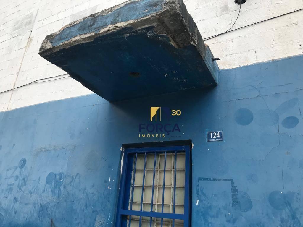 galpão para alugar, 1100 m² por r$ 12.000,00/mês - vila itapegica - guarulhos/sp - ga0676