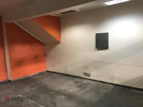 galpão para alugar, 1130 m² por r$ 17.000/mês - tatuapé - são paulo/sp - ga0002