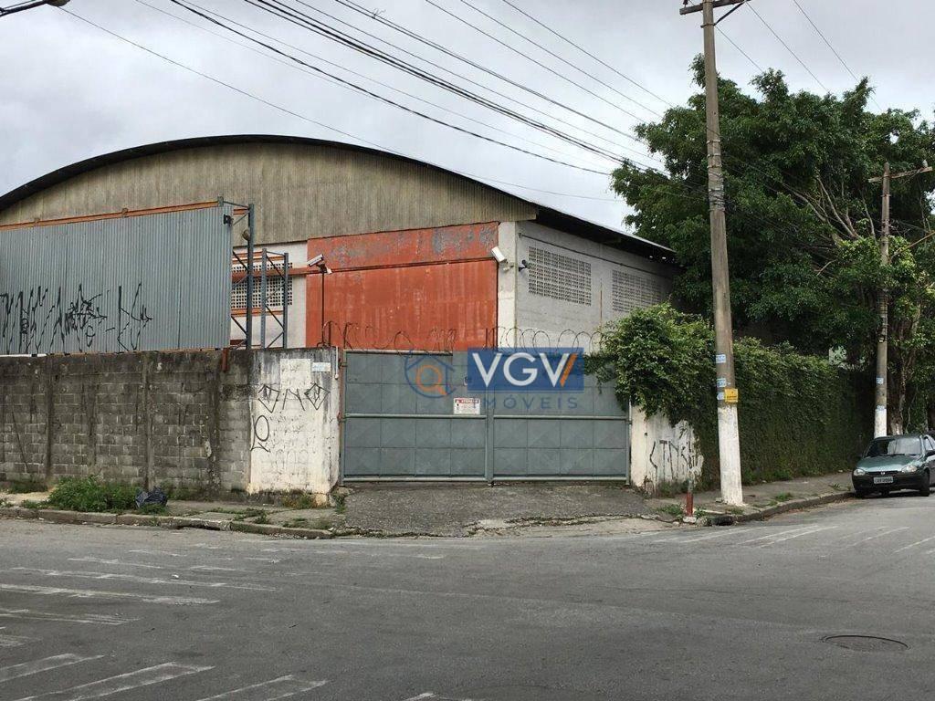 galpão para alugar, 1161 m² por r$ 20.400,00/mês - piratininga - osasco/sp - ga0214