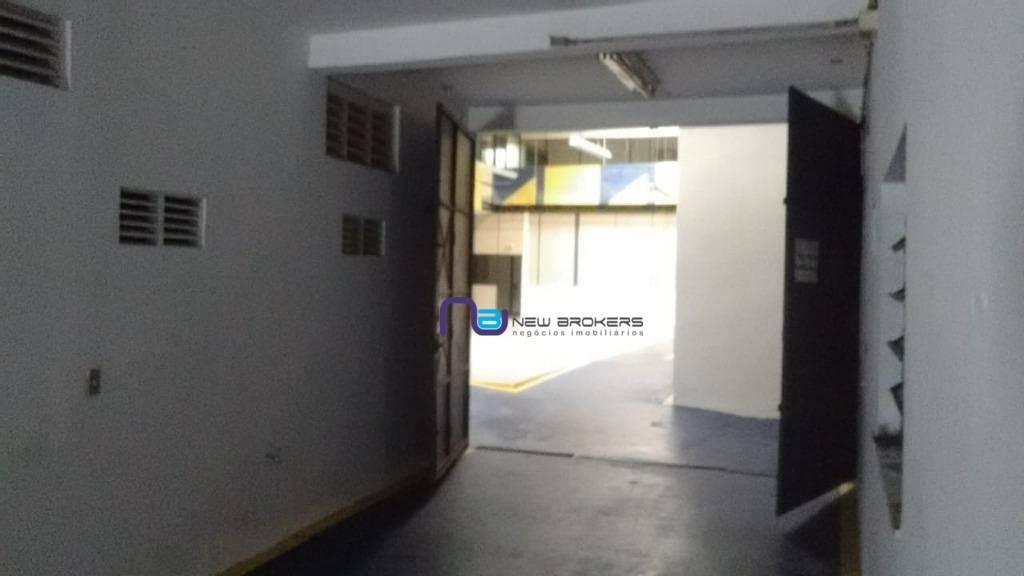 galpão para alugar, 1.180 m² por r$ 17.500/mês - ga0582