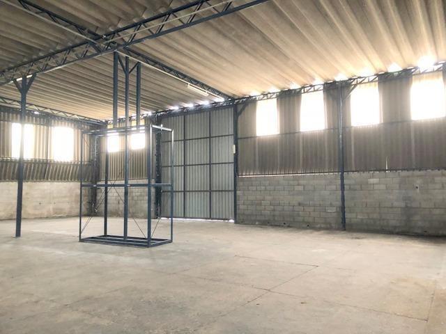 galpão para alugar, 1200 m² por r$ 15.000,00/mês - jardim da glória - cotia/sp - ga0129