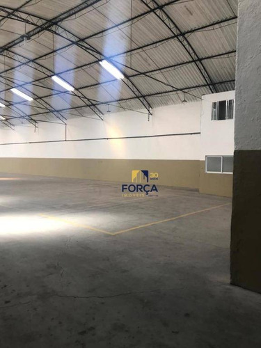 galpão para alugar, 1216 m² - cumbica - guarulhos/sp - ga0684