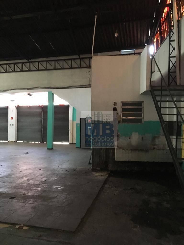 galpão para alugar, 1234 m² por r$ 20.000,00/mês - santo amaro - são paulo/sp - ga0078