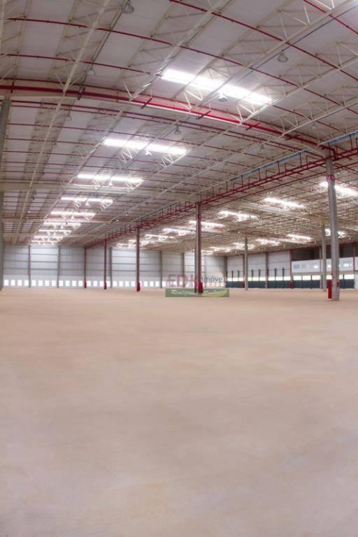 galpão para alugar, 12541 m² por r$ 190.275,00/mês - vila galvão - caçapava/sp - ga0159