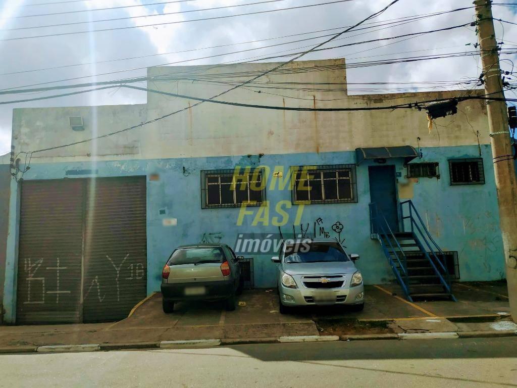 galpão para alugar, 1260 m² por r$ 10.000,00/mês - cidade industrial satélite de são paulo - guarulhos/sp - ga0031
