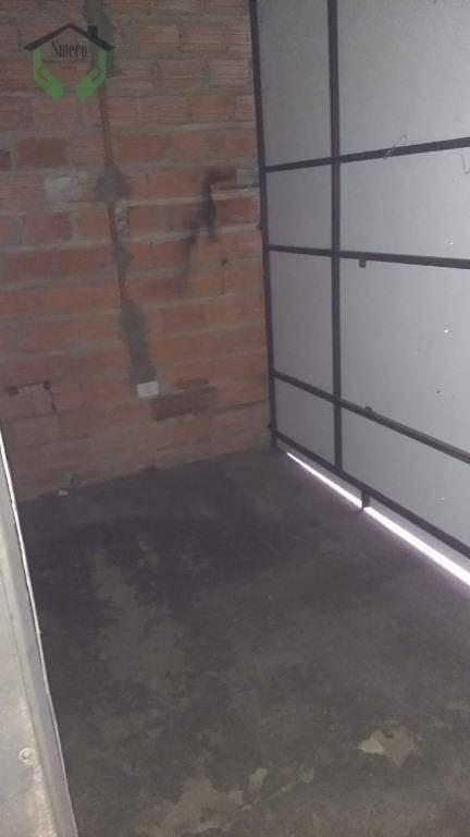 galpão para alugar, 130 m² por r$ 2.300/mês - bandeiras - osasco/sp - ga0100