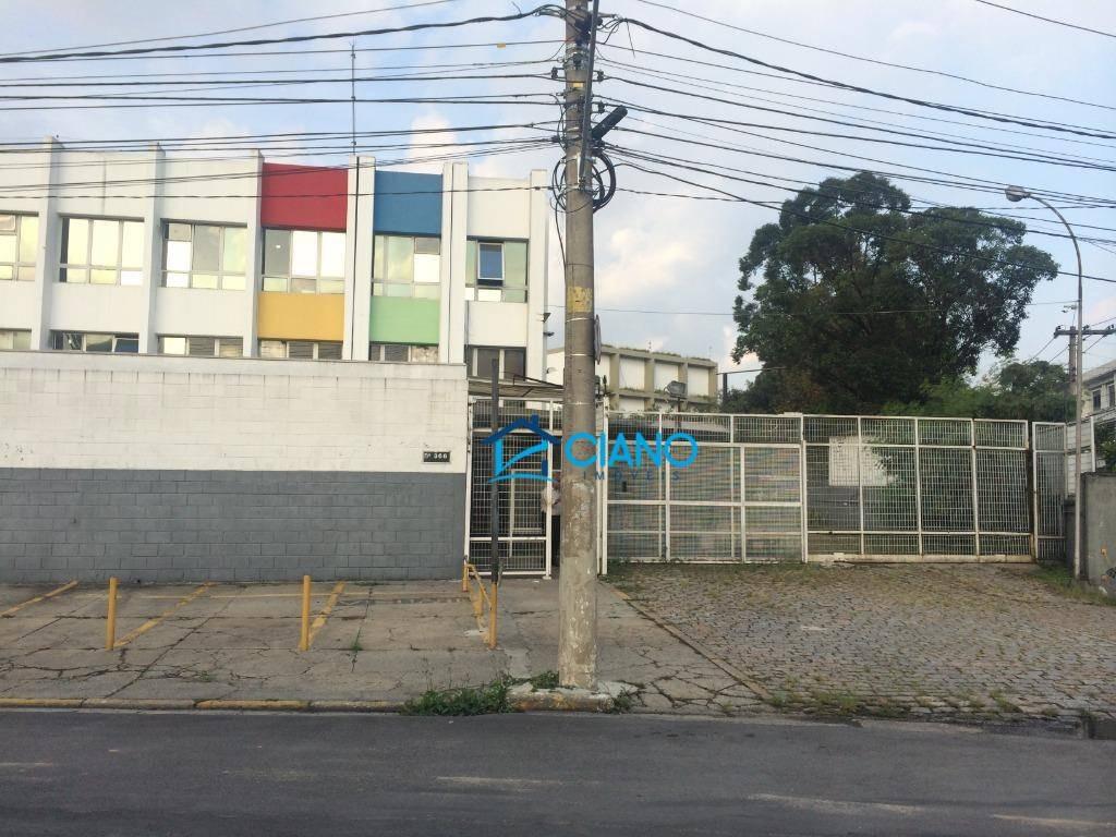 galpão para alugar, 13.917 m² por r$ 100.000/mês - cambuci - são paulo/sp - ga0116