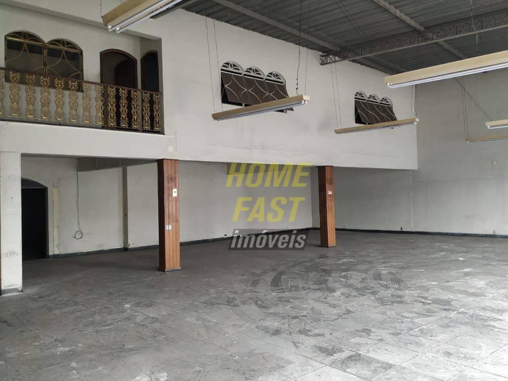 galpão para alugar, 1400 m² por r$ 29.900,00/mês - vila nilo - são paulo/sp - ga0302