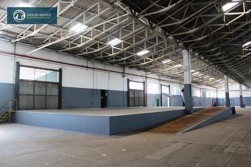 galpão para alugar, 1470 m² por r$ 51.400,00/mês - vila leopoldina - são paulo/sp - ga0418