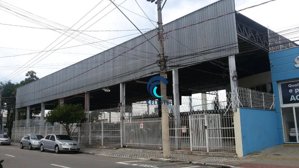 galpão para alugar, 1500 m² - centro - são josé dos campos/sp - ga0052