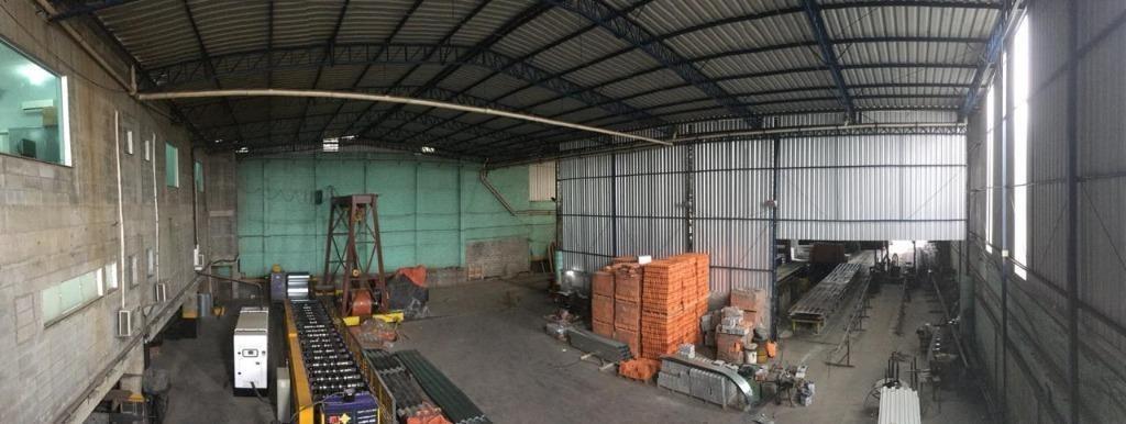 galpão para alugar, 1500 m² - conceição - diadema/sp - ga1309