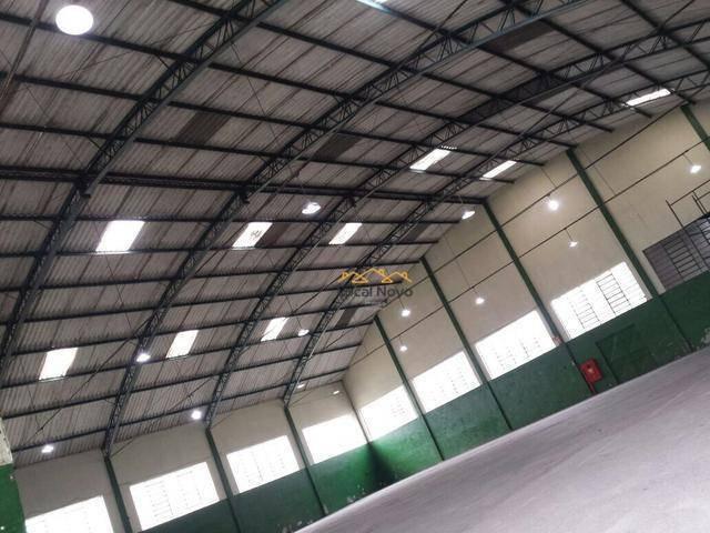 galpão para alugar, 1600 m² por r$ 18.000/mês - cidade industrial satélite de são paulo - guarulhos/sp - ga0019
