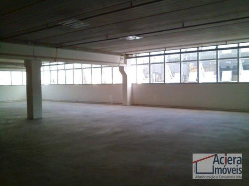 galpão para alugar, 1650 m² por r$ 37.950/mês - jardim alvorada - jandira/sp - ga0431