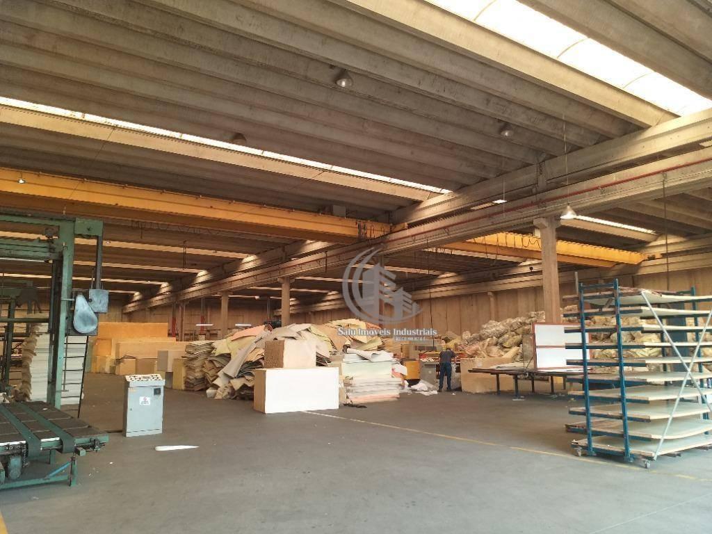 galpão para alugar, 17800 m² por r$ 200.000,00/mês - cidade industrial satélite de são paulo - guarulhos/sp - ga0415