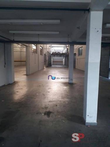 galpão para alugar, 2000 m² por r$ 25.000/mês - ermelino matarazzo - são paulo/sp - ga0300