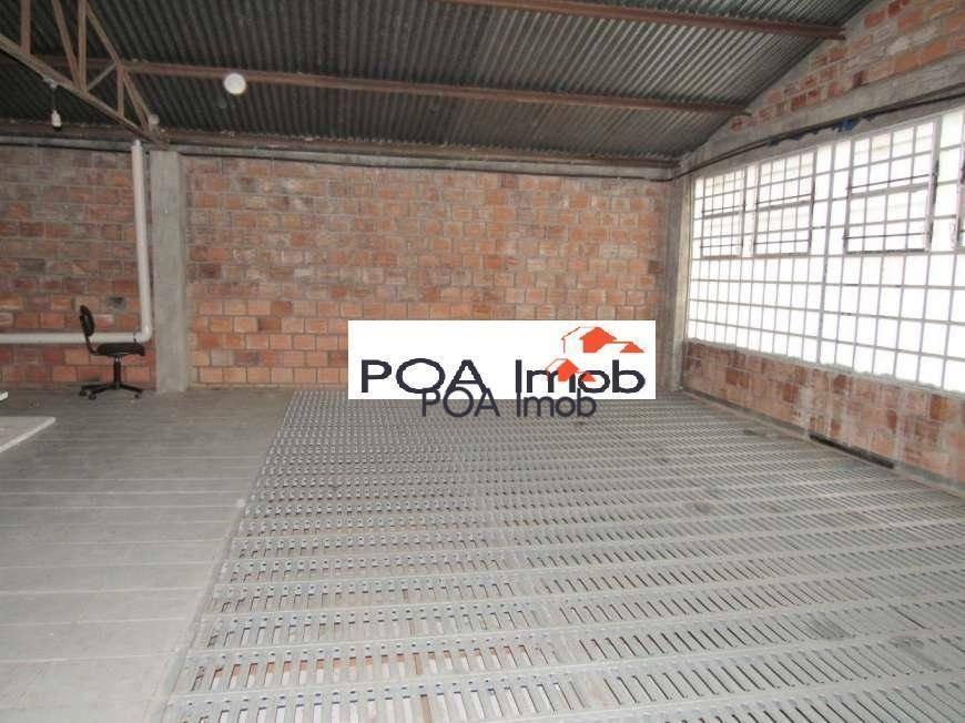 galpão para alugar, 207 m² por r$ 3.900,00/mês - santa maria goretti - porto alegre/rs - ga0017