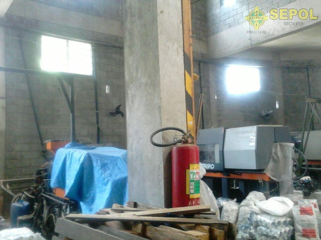 galpão para alugar, 250 m² por r$ 3.600,00/mês - jardim tietê - são paulo/sp - ga0014