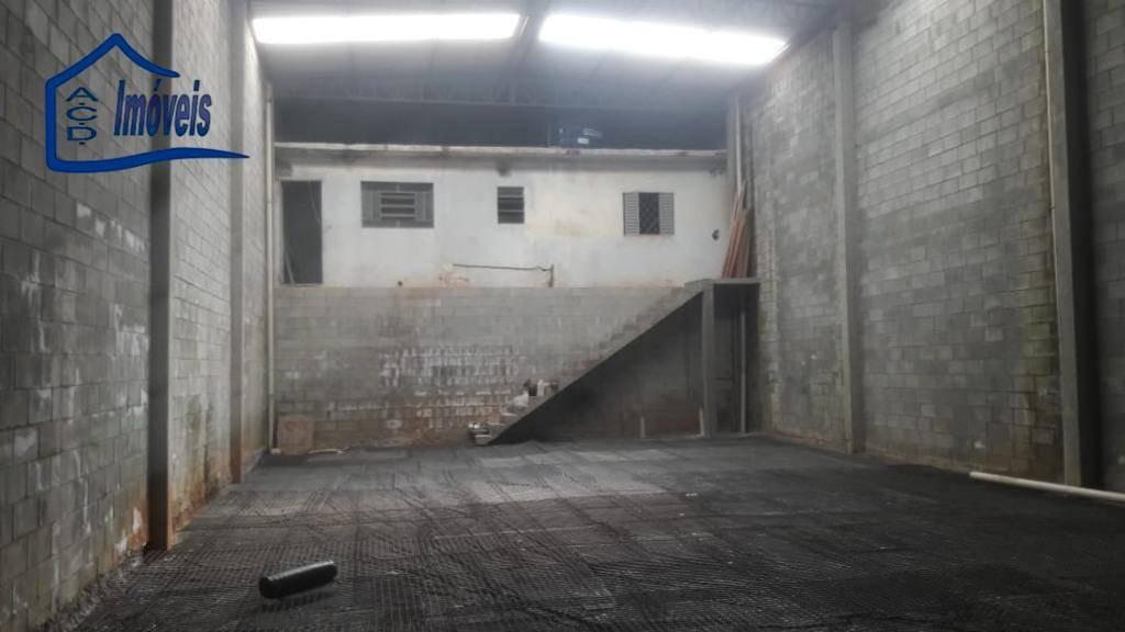 galpão para alugar, 250 m² por r$ 4.000/mês - ga0030