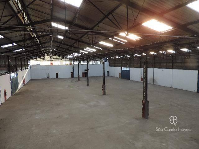 galpão para alugar, 2500 m² por r$ 30.000/mês - jardim fontana - cotia/sp - ga0030