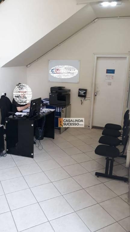 galpão para alugar, 2600 m² por r$ 45.000/mês - vila antonieta - são paulo/sp - ga0035