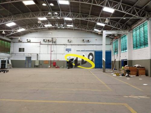 galpão para alugar, 2650 m² por r$ 42.000,00/mês - granja viana ii - cotia/sp - ga0401
