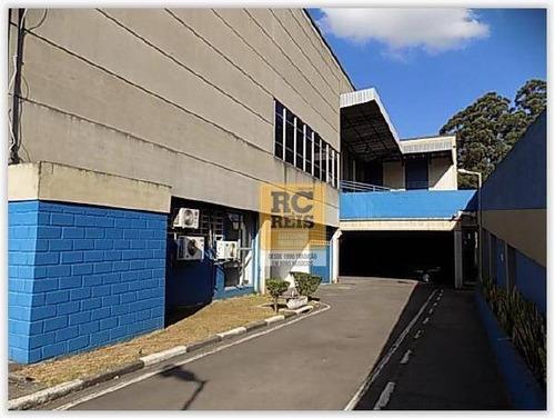 galpão para alugar, 2800 m² por r$ 100.000,00/mês - jandira - jandira/sp - ga0175