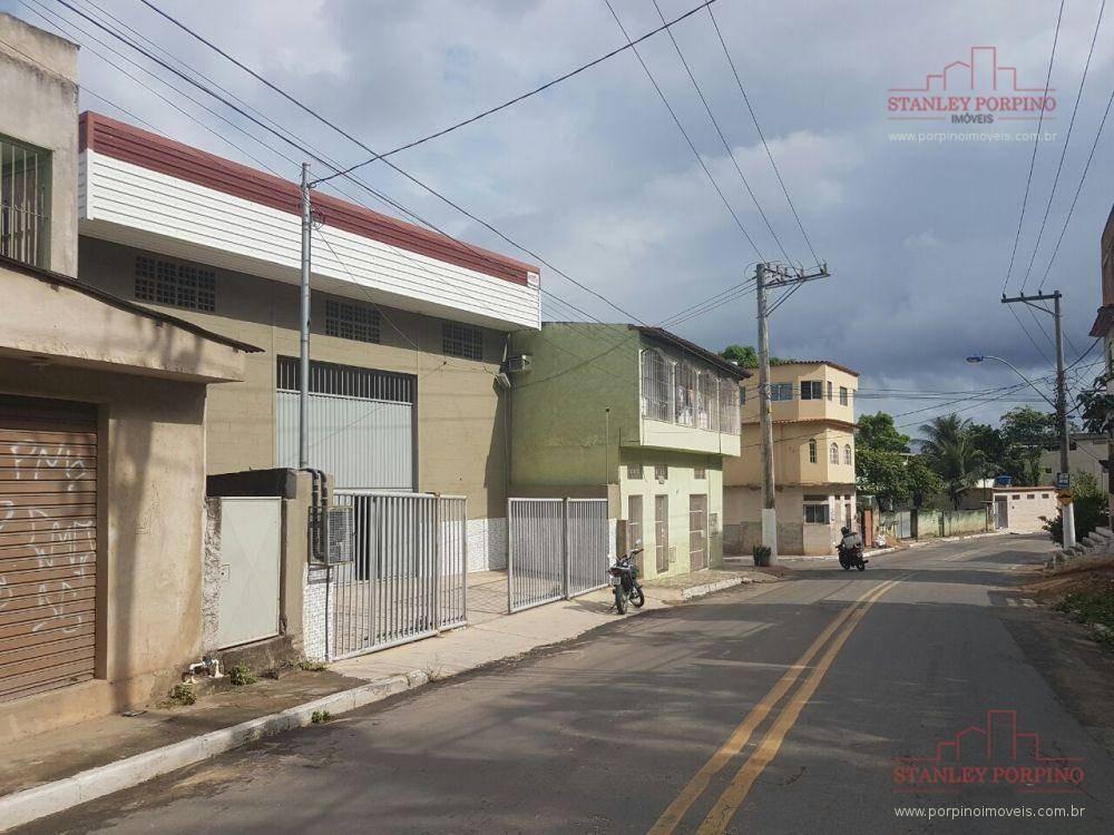 galpão para alugar, 300 m² por r$ 3.000,00/mês - rio marinho - vila velha/es - ga0002