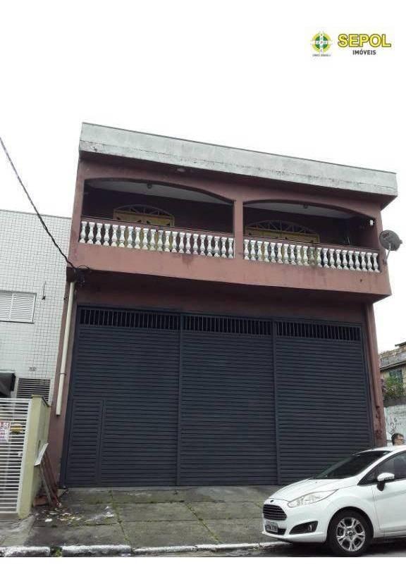 galpão para alugar, 300 m² por r$ 3.500,00/mês - jardim paraguaçu - são paulo/sp - ga0054