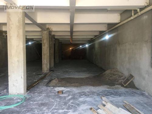 galpão para alugar, 300 m² por r$ 6.000/mês - vila matilde - são paulo/sp - ga0068