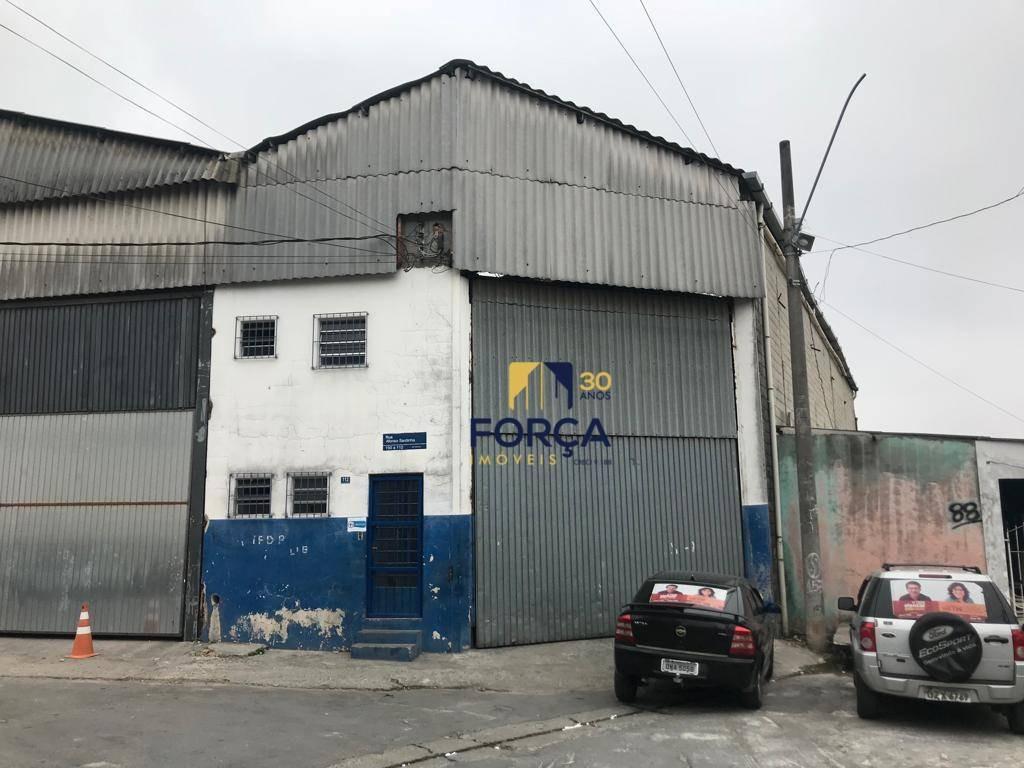 galpão para alugar, 316 m² - vila itapegica - guarulhos/sp - ga0677