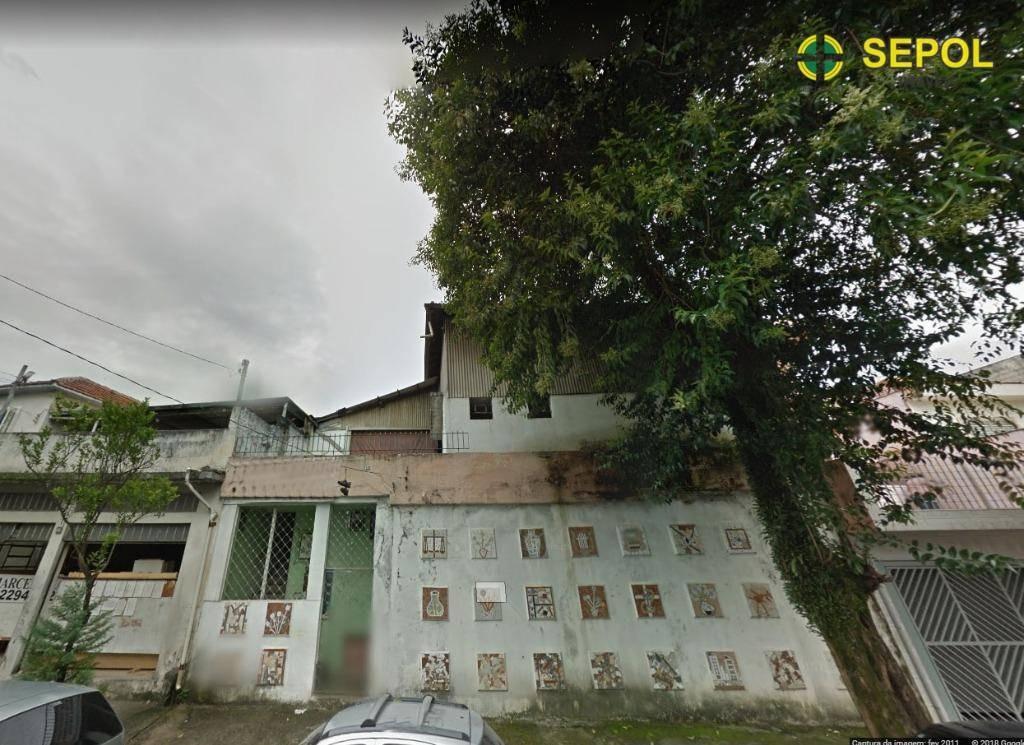 galpão para alugar, 320 m² por r$ 3.802/mês - vila antonina - são paulo/sp - ga0050