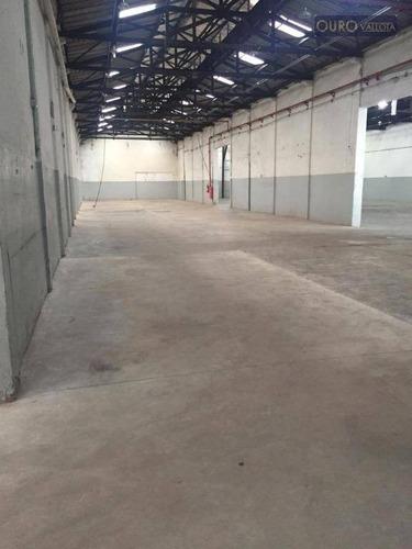 galpão para alugar, 3200 m² por r$ 52.000/mês - mooca - ga 190506n - ga0404