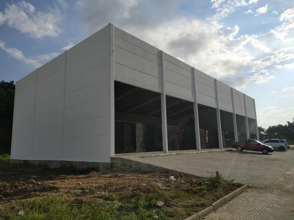 galpão para alugar, 324 m² por r$ 7.000/mês - morretes - cam - 1682