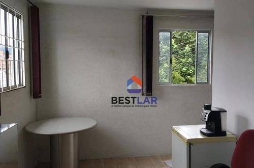 galpão para alugar, 336 m² por r$ 6.000,00/mês - jardim alvorada - jandira/sp - ga0005