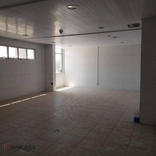 galpão para alugar, 3600 m² por r$ 60.000,00/mês - parque industrial do jardim são geraldo - guarulhos/sp - ga0004