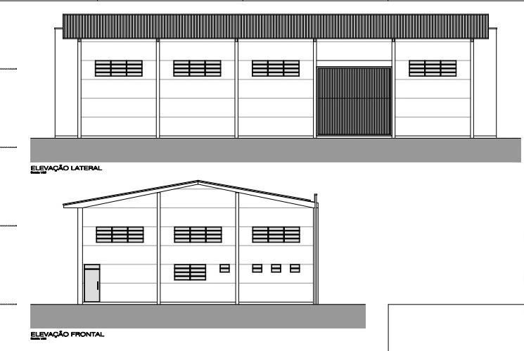 galpão para alugar, 379 m² por r$ 4.500/mês - badenfurt - blumenau/sc - ga0086