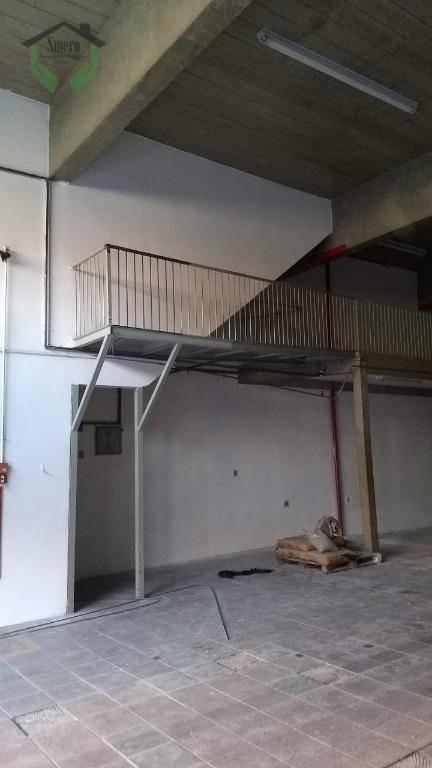 galpão para alugar, 390 m² por r$ 8.000,00/mês - presidente altino - osasco/sp - ga0106