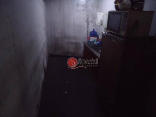 galpão para alugar, 400 m²  -água rasa - ga0866