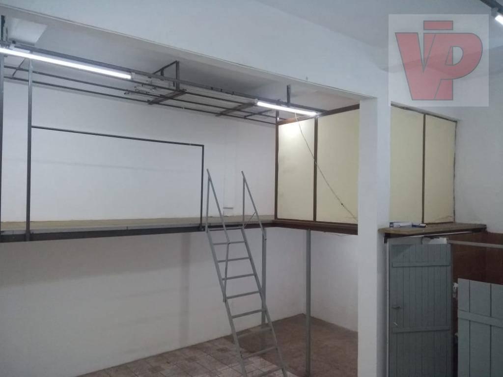 galpão para alugar, 400 m² por r$ 9.300 - mooca - são paulo/sp - ga0049