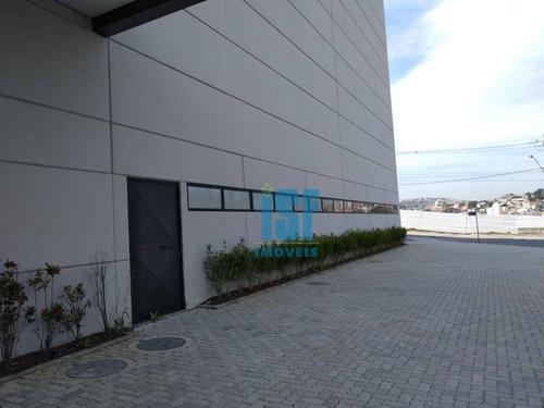galpão para alugar, 4100 m² por r$ 95.000/mês - jardim alvorada - jandira/sp - ga0362. - ga0362