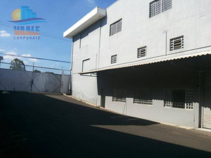 galpão para alugar, 4262 m² por r$ 65.000/mês - jardim do lago - campinas/sp - ga0249