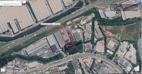 galpão para alugar, 4300 m² por r$ 86.000/mês - jardim alvorada -ga 190514d - ga0411