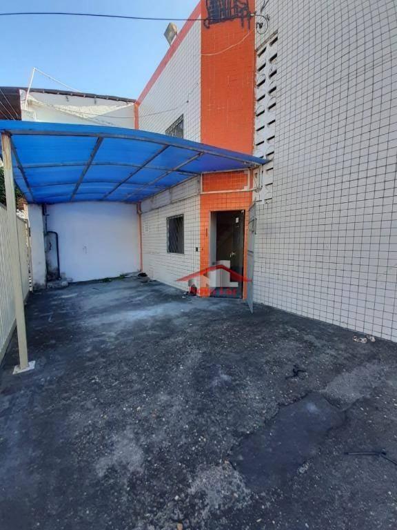 galpão para alugar, 444 m² por r$ 6.000/mês - centro - fortaleza/ce - ga0009