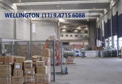 galpão para alugar, 4484 m² por r$ 97.000/mês - cidade industrial satélite de são paulo - guarulhos/sp - ga1550