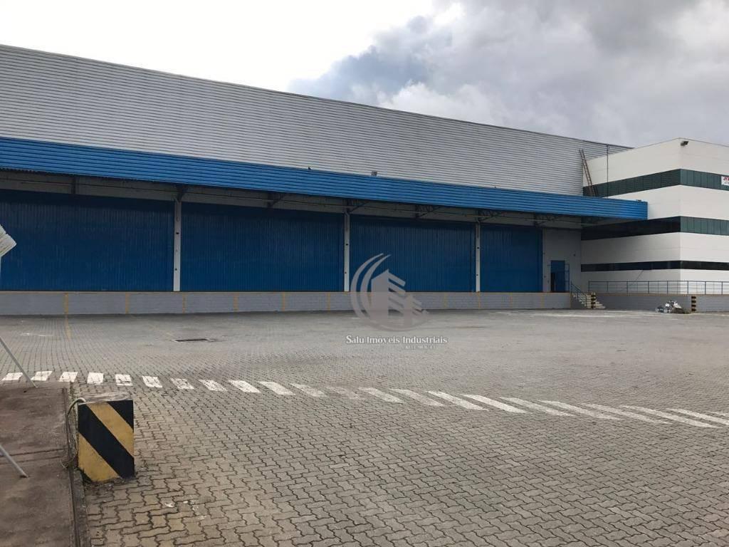 galpão para alugar, 5110 m² por r$ 120.000,00/mês - cidade aracilia - guarulhos/sp - ga0312